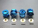 Associated RC 18T Alloy Drive Adaptor With Pins & Washers (-1mm) - 4pcs set - GPM AR009