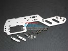 HPI Nitro MT2 Alloy Radio Plate With Antenna Mount & Alloy Posts & Screws & Washers - GPM NMT2014