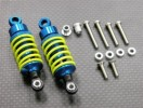HPI Sprint Alloy Ball Top Damper (55mm) With 1.5mm Coil Spring & Alloy Collars & Washers & Screws - 1pr set - GPM DF055