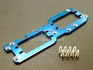 Kyosho Inferno MP 7.5 Option Alloy-7075 Upper Deck (3mm Thick) With Screws - 1pc set - GPM HMP75014