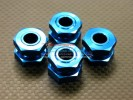 Kyosho Inferno MP 7.5 Option Alloy Drive Adaptor With Wheel Stopper Nut(Original Design) - 2prs - GPM MP75006