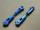 Kyosho Inferno MP 7.5 Option Alloy Rear Adjustable Upper Arm (Steel Tie Rod Design ) - 1pr - GPM MP75057