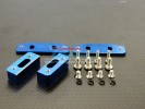 Kyosho Inferno MP 7.5 Option Alloy Adjustable Engine Mount With Heat Sink & Screws & E-clips - 4pcs set - GPM MP75080