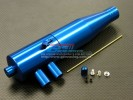 Kyosho Inferno MP 7.5 Option Alloy Tune Pipe With Joint & Screws & Collars - 1set - GPM MP75308R