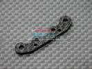 Kyosho Mini Inferno ST /Mini Inferno /Mini Inferno 09 Graphite Front Arm Plate For Rear Gear Box - 1pc - GPM GMIF009F