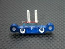 Kyosho Mini Inferno ST /Mini Inferno /Mini Inferno 09 Alloy Rear Arm Bulk (2 Degree ) For Rear Gear Box With Screws - 1pc set - GPM MIF009R/B