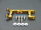 Kyosho Mini Inferno ST /Mini Inferno Alloy Servo Mount With Screws & Shims (For Hitec, JR Servo) - 1pc set - GPM MIF024H/JR