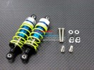 Kyosho Mini Inferno ST /Mini Inferno /Mini Inferno 09 Alloy Front Adjustable Spring Damper With Plastic Ball Top (63mm) Including Screws & Alloy Collars - 1pr set - GPM MIF363/PBT