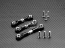 Tamiya TT01 Alloy Completed Tie Rod With Screws - GPM TT160