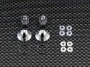 TRAXXAS 1:16 Mini E-REVO  Alloy Lower Spring Retainer (1pr) + Nylon Ball Ends With Balls (1pr) + Steel Shaft (1pr) + O-rings X 4pcs + Delrin Washers X 4pcs - GPM ERV348/ASSC