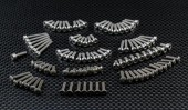 TRAXXAS 1:16 Mini E-REVO Titanium Full set Screws - 98pcs - GPM TERVFSS