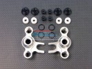 TRAXXAS Revo /Revo 3.3 Alloy Front / Rear Steering Block With Delrin Screws + Dust-Proof Hat + Plastic O-rings - 1 Pr set - GPM TRV021