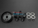 TRAXXAS T-Maxx 1 /Tmaxx 3.3 Hard Steel Gear set For Differential Assembly With Shims & O-rings - 6pcs set - GPM STMX1202