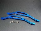 TRAXXAS 1/10 T-Maxx Monster Truck (Options) Alloy Chassis Lower Brace-1pr set - GPM TMX1014