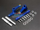 TRAXXAS 1/10 T-Maxx Monster Truck (Options) Alloy Steering With Plate+ 4pcs 5 X 8 Bearing -1 set - GPM TMX1048B