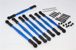 Vaterra 1/10 K-5 Blazer Ascender Aluminium Front+Rear Anti-thread Tie Rod For 308mm Wheelbase - 8pcs set - GPM K5160/308